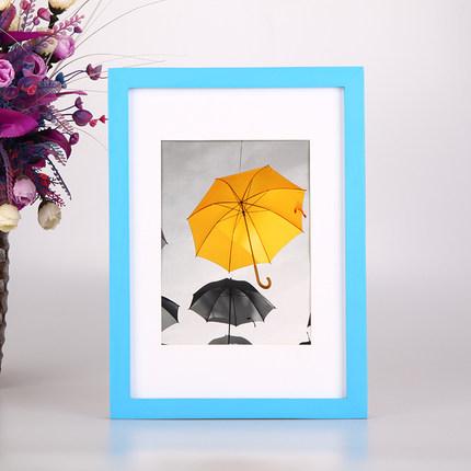 【欧锋】创意实木相框相片挂墙标准A4券后5.5元包邮