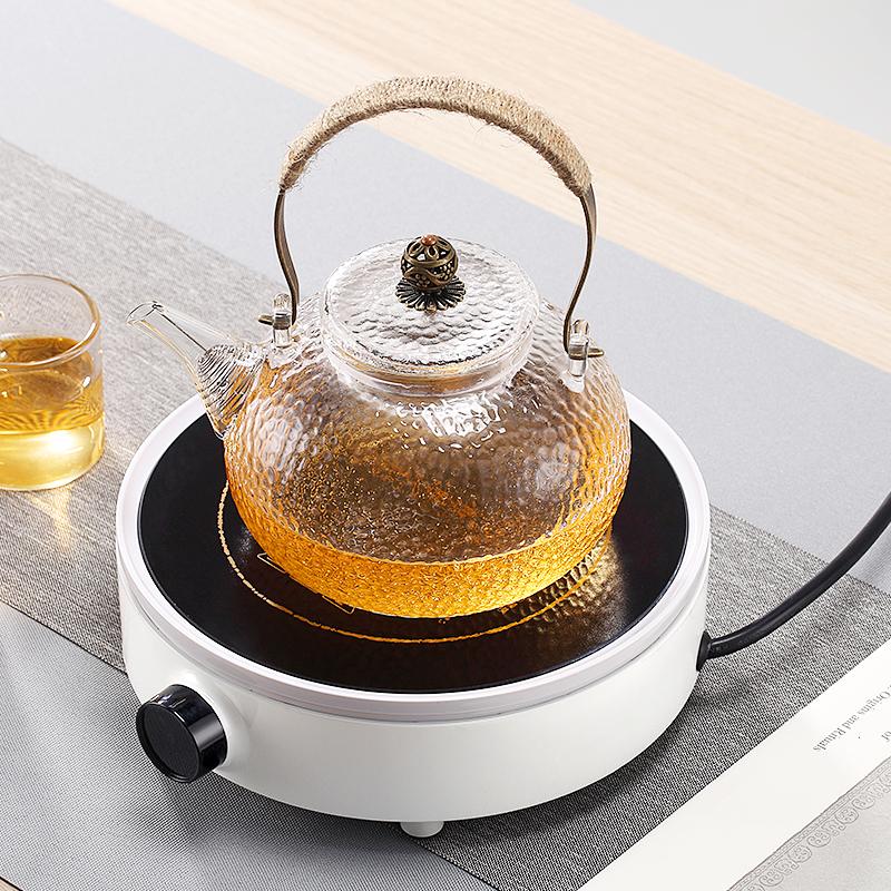 中驰电陶炉茶炉家用静音泡茶迷你电磁炉小型烧水茶壶光波炉煮茶器-给呗网