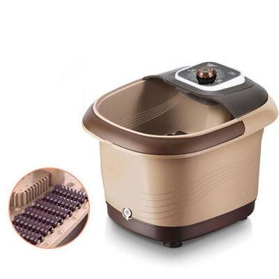 全自动加热足浴盆家用洗脚盆恒温泡脚桶电动足疗机按摩足浴器