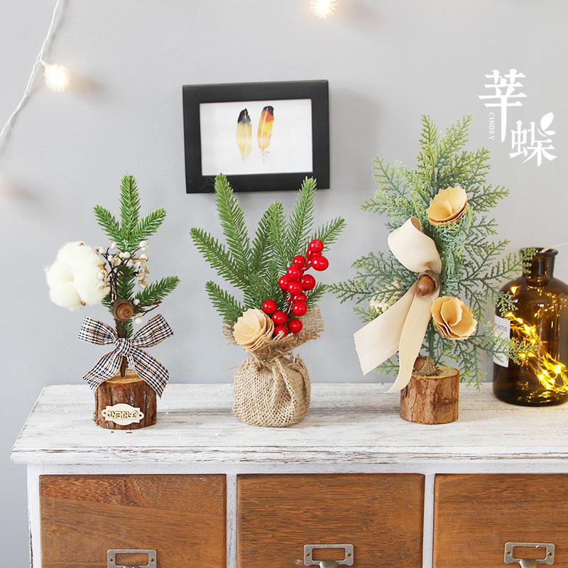 Usd 18 95 Xin Butterfly Christmas Desktop Vanilla Mini Christmas