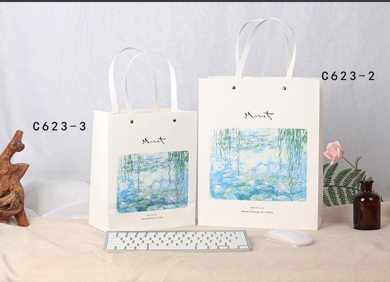 创意礼品袋手提高档纸袋礼物袋生日送礼包装结婚精美卡通大号nis