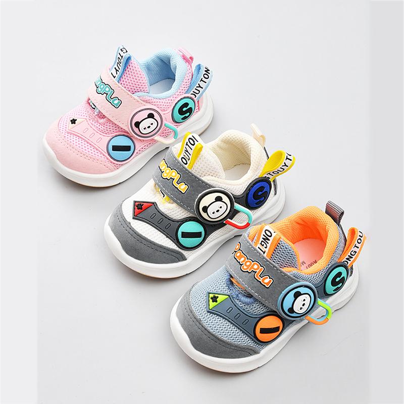 宝宝学步鞋男春秋季0一1-3岁童鞋机能鞋婴儿鞋子软底女宝宝鞋子