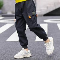 На мальчика замшевый Рабочие брюки 2019 новая коллекция Большие дети в зимней одежде детские утепленный брюки для отдыха Спортивные штаны