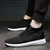 2018 new autumn Korean version of the trend of men's shoes wild sports casual canvas shoes men's running tide shoes summer