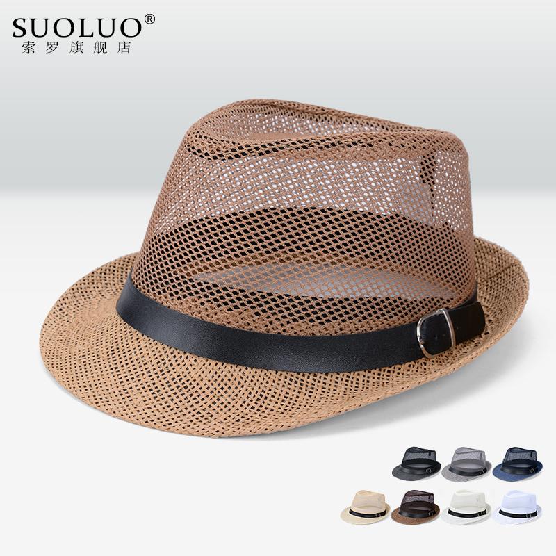 索罗 男士爵士帽