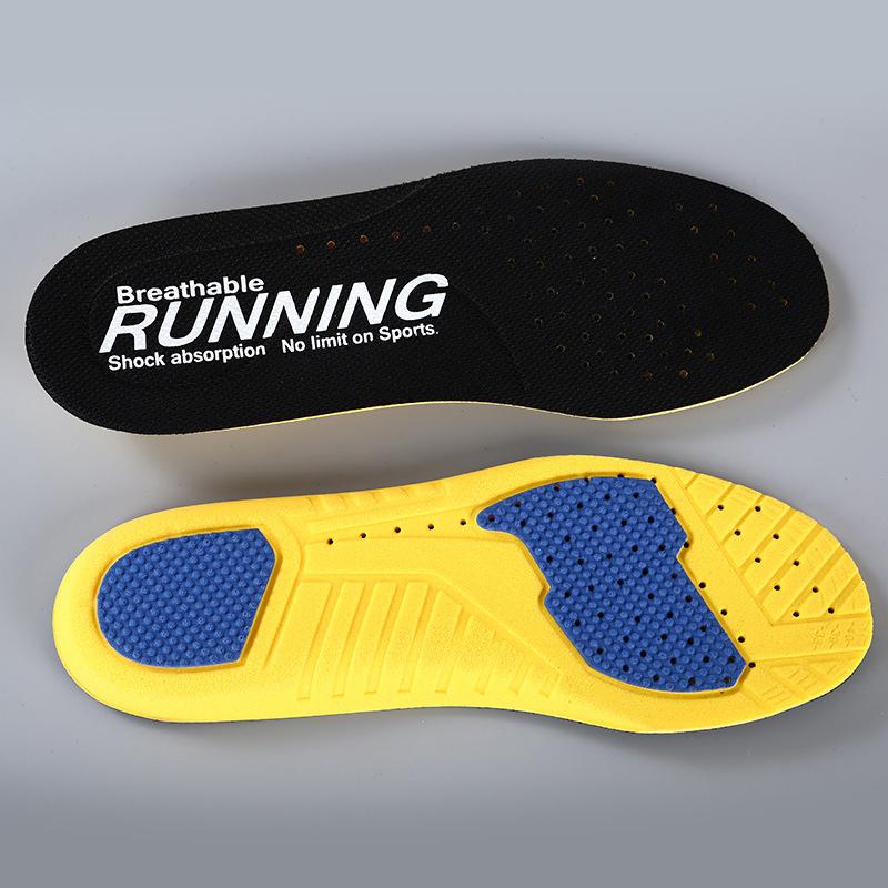 安踏運動鞋墊男女透氣減震加厚原裝適配吸汗防臭跑鞋旅遊鞋鞋墊