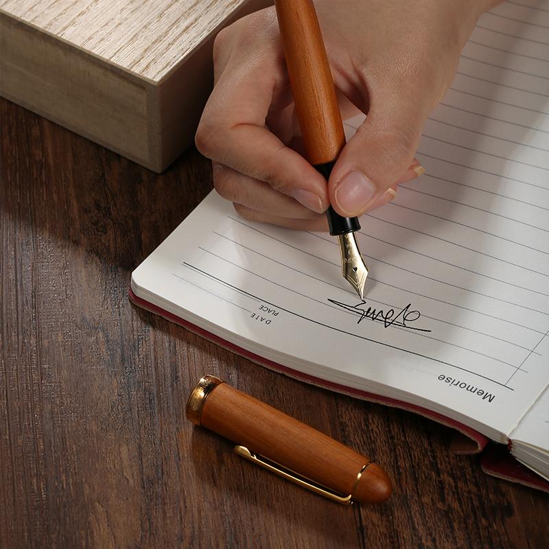 PLATINUM 日本白金 3776系列 PTB-50000YN 屋久杉笔杆 14K金尖 钢笔 M尖 ¥1910