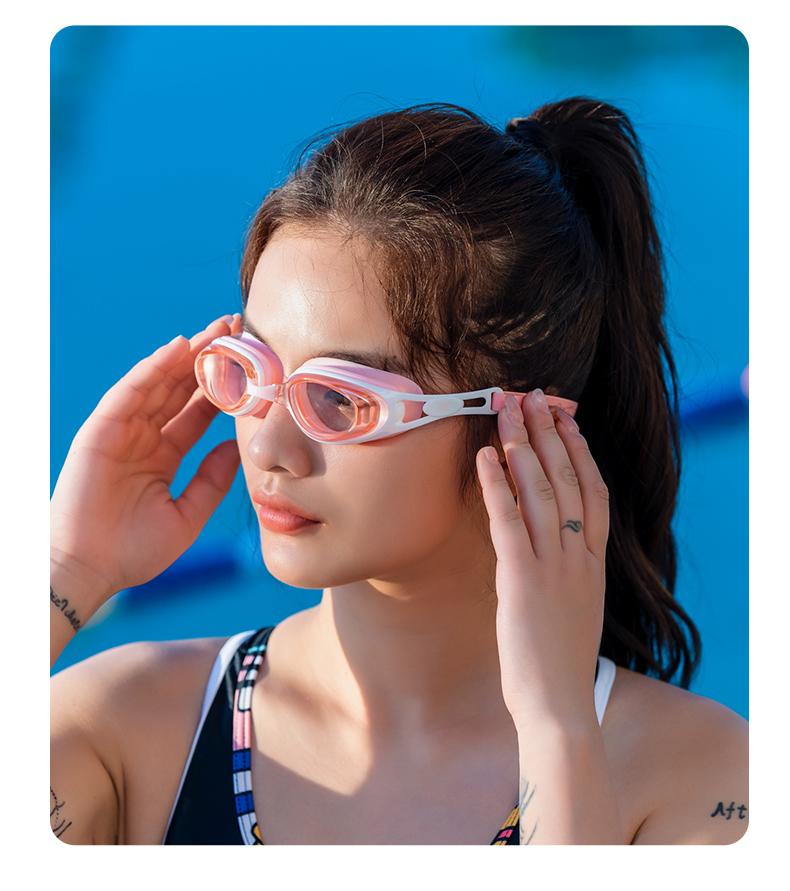 361度 男女/儿童款 防水防雾 高清电镀泳镜 有带度数款 图23