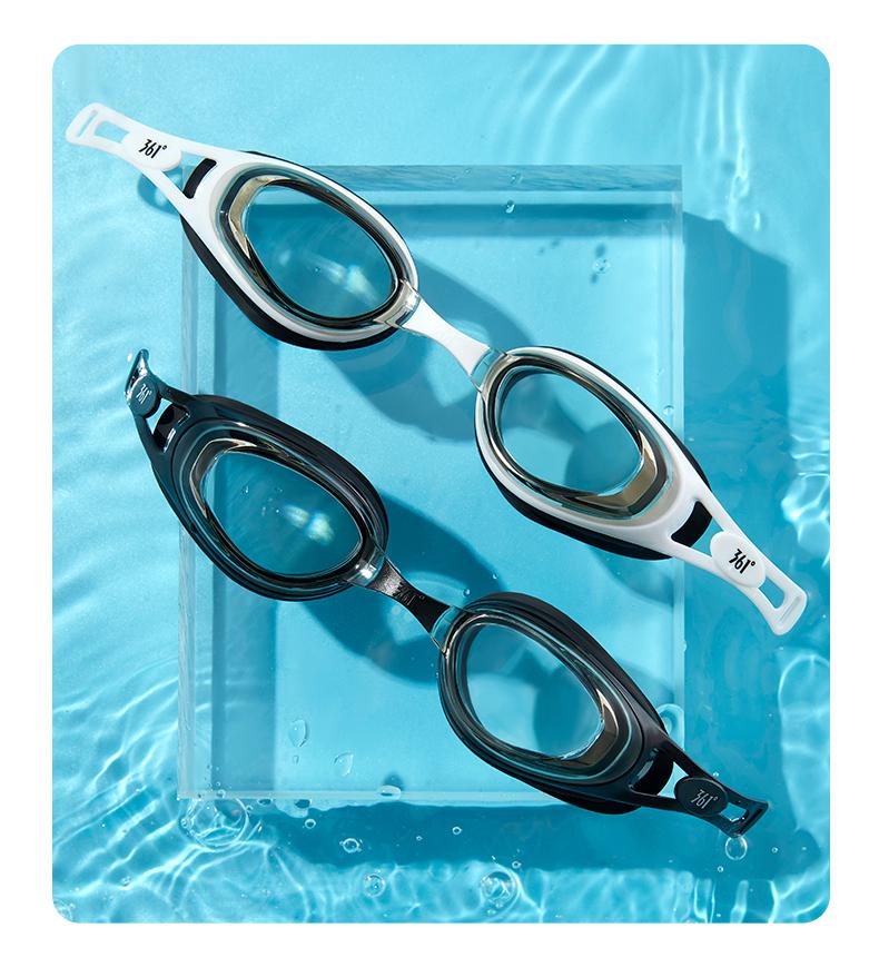 361度 男女/儿童款 防水防雾 高清电镀泳镜 有带度数款 图18