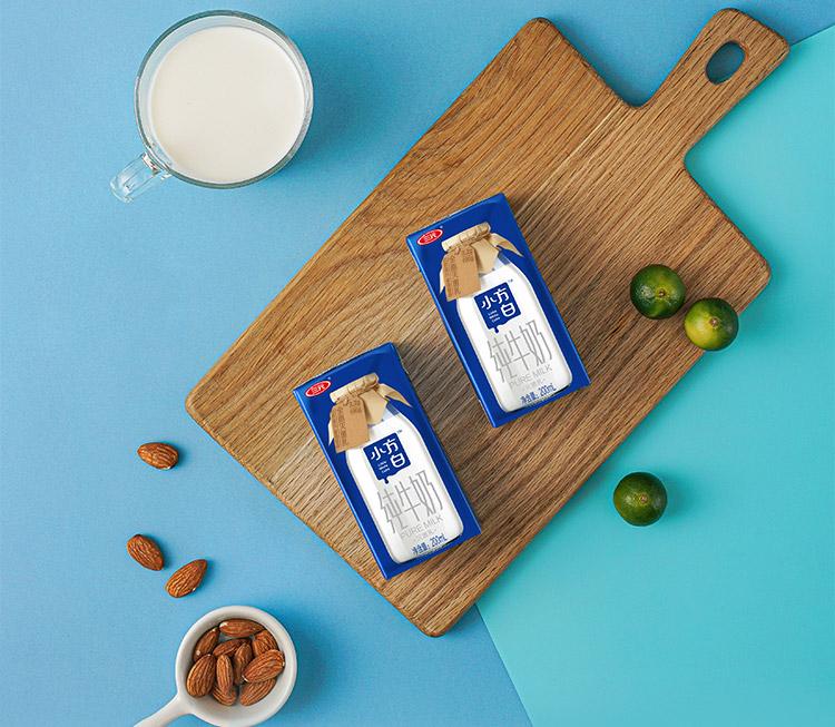 【一件8折】三元纯牛奶早餐奶200ml*48盒