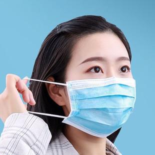 防尘雾霾三层防护口罩家用常备口罩