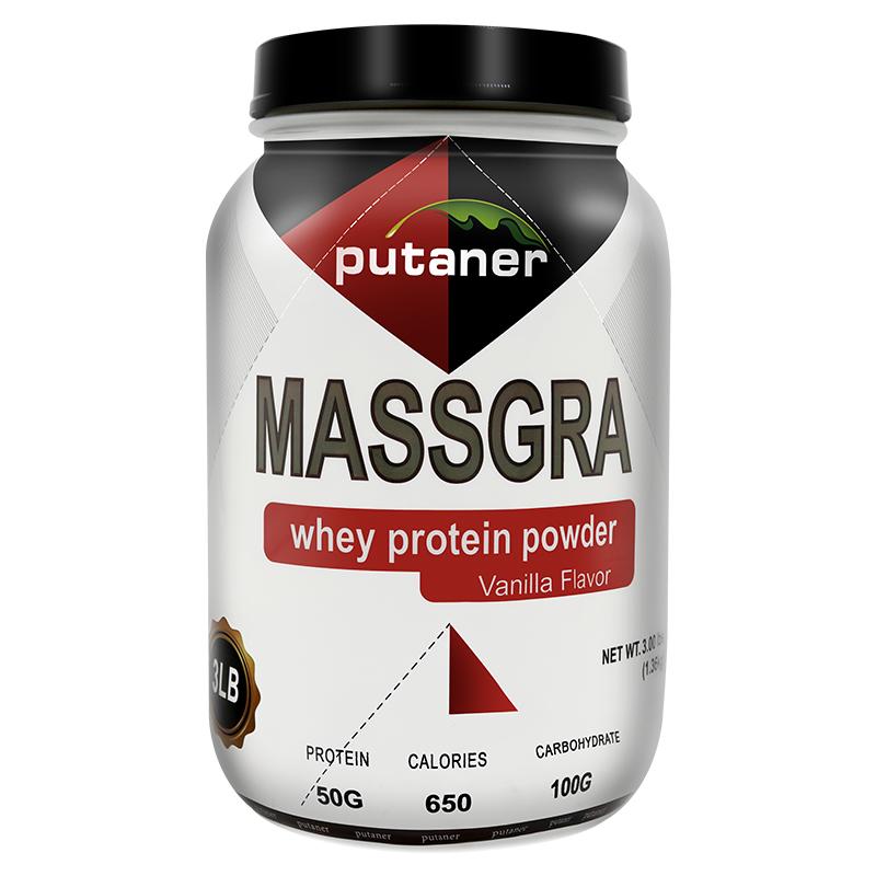 Putaner乳清蛋白增肌粉男瘦人增重增肥女长肉胖健身蛋白质营养粉
