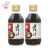 【200ml*2瓶】滑嘟嘟海鲜汁蘸料劵后9.9元包邮