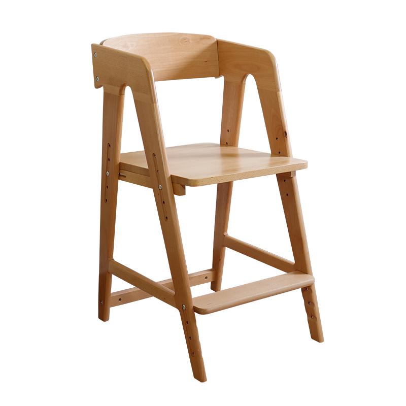 Viết ghế bàn ghế ăn ghế nhà nâng điều chỉnh ghế học sinh tư thế ghế học tập trẻ em ghế gỗ rắn trở lại có thể - Phòng trẻ em / Bàn ghế