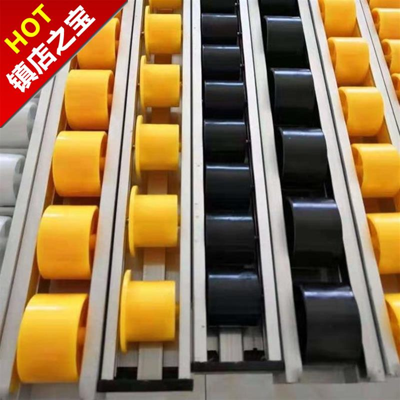 Wrapped aluminum alloy sheet metal sheave stainless steel strip slide roller heavy-duty edge rail fluent roll I wheel