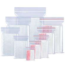 【100只装】透明塑料密封袋