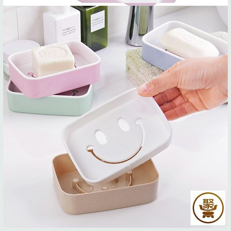 创意居家居日用品家用小东西卫浴用品肥皂盒双层生活百货店二元店