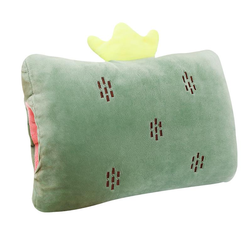 【教室办公室毛绒手枕靠垫午睡枕】10月18日最新优惠