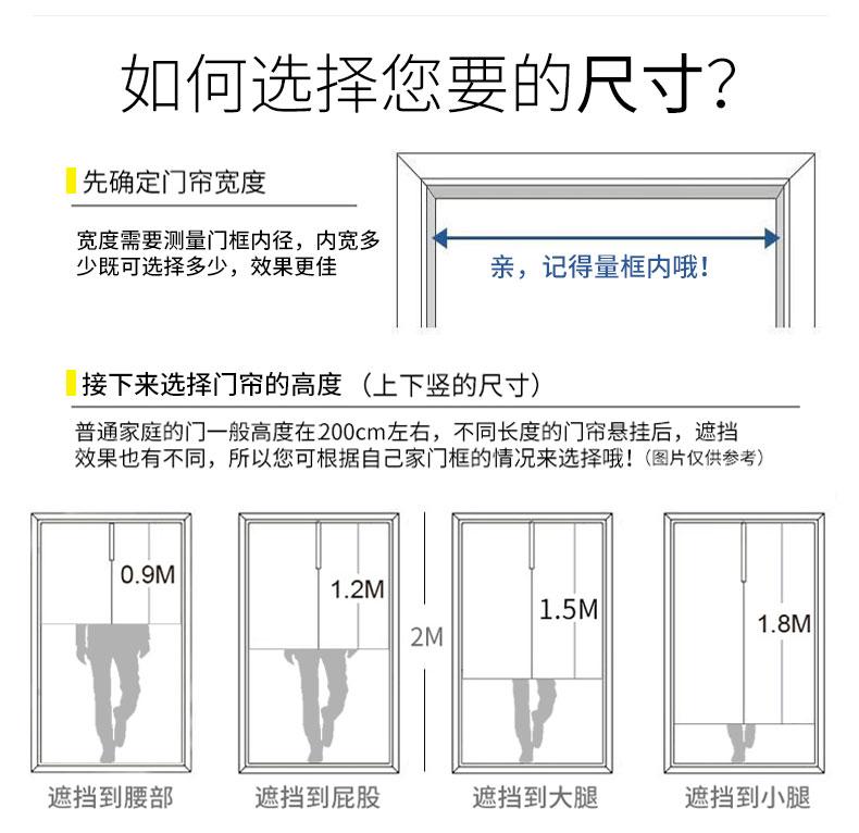 中式门帘隔断窗厨房遮挡玄关厕所卧室中国风布帘装饰家用布艺挂帘详细照片