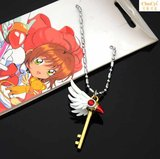 Cardcaptor Sakura Magic cos Variety Sakura Stick Star Staff Kuro Necklace Anime Peripheral Bird Head Hanging