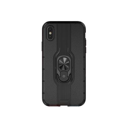 苹果xr专用手机壳iphone x保护套带支架防摔气囊网红限量版高档