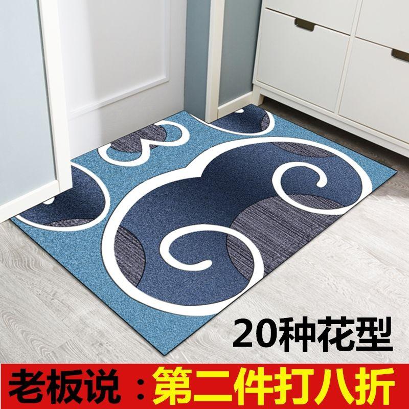 Thảm cửa có thể xóa, thảm cửa, cửa ra vào, thảm cửa nhựa, miếng lót chân, cao su chống trượt PVC, chống thấm hộ gia đình, dùng một lần - Thảm sàn