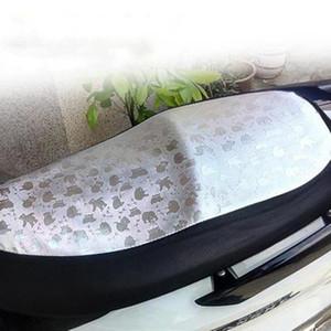 电动车坐防晒垫套 电瓶车夏季通用全皮革座套 防晒防水踏板车座垫