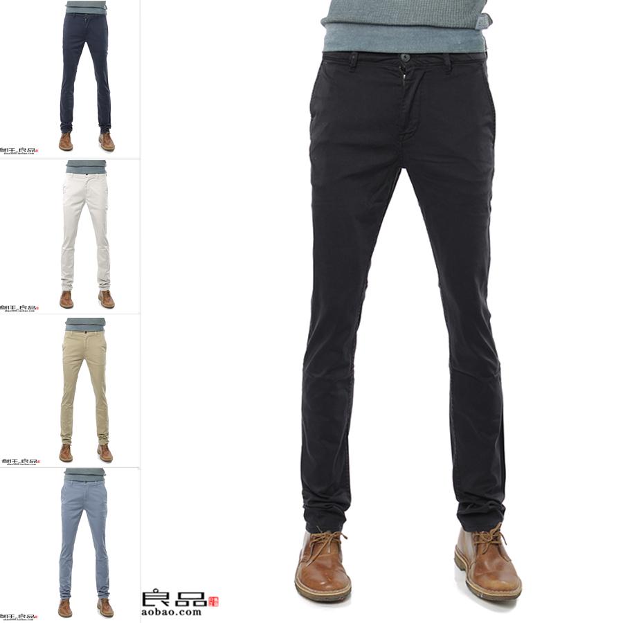Hugo Boss 正品 橙标 男士简约纯色休闲裤长裤 50379152 10195867
