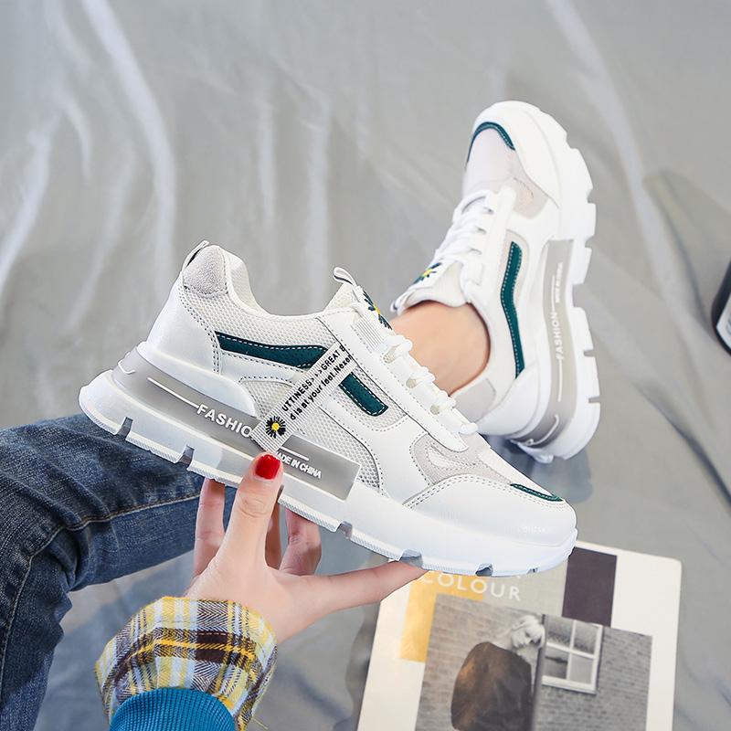 老爹鞋女ins超火2021春夏爆款新款潮流鞋子女韩版百搭运动跑步鞋