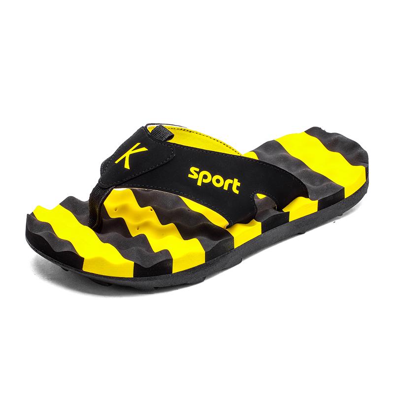 夏天沙滩防滑按摩底人字拖鞋