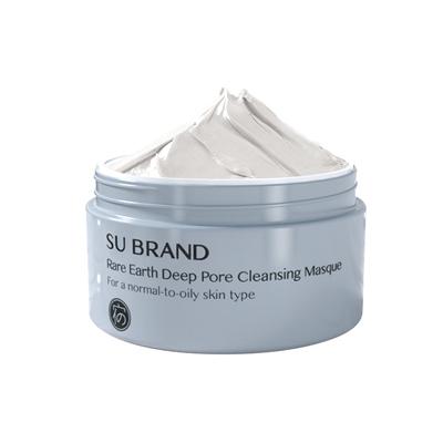 宿系之源白泥深层清洁面膜去黑头粉刺控油闭口涂抹式毛孔波波泥膜