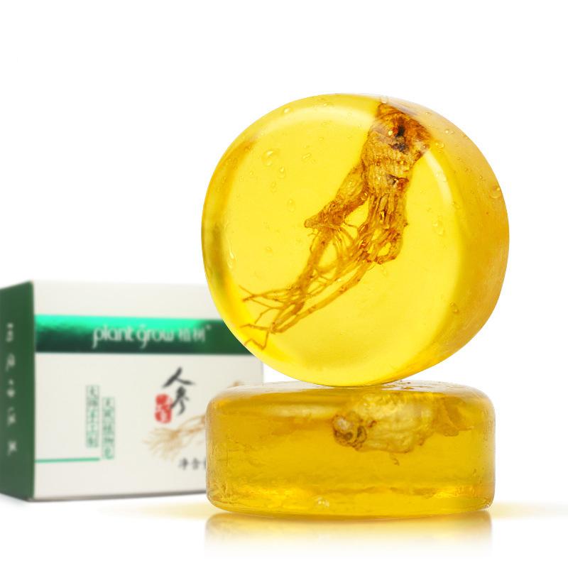 人参除螨皂女面部除螨虫深层清洁洗脸去螨虫硫磺香皂香味持久香型