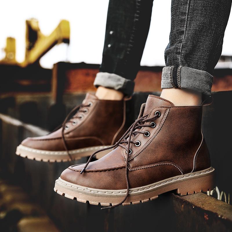 3紅店鋪、滿分好評:格桔 JL91 男士馬丁靴