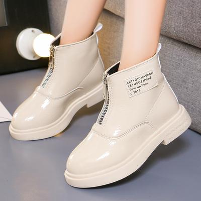 女童马丁靴2019秋季新款英伦儿童单靴韩版女孩公主短靴中大童靴子