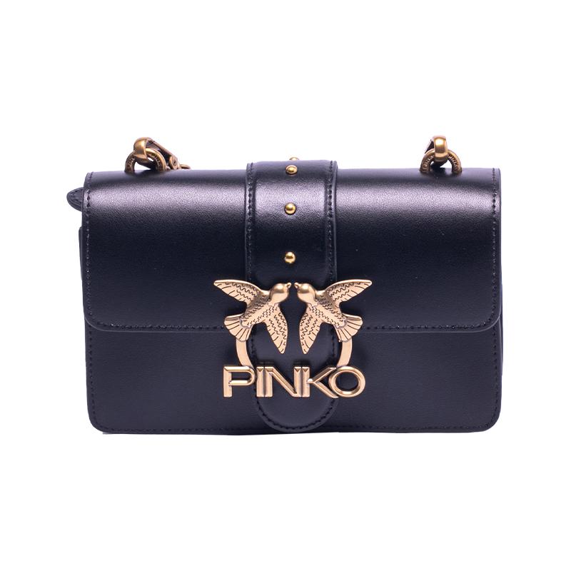 【直营】PINKO 女士经典燕子包链条斜挎包1P22AFY6XT