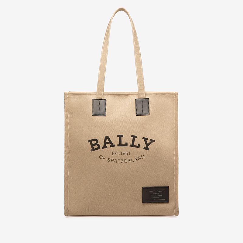 【直营】BALLY/巴利织物托特包女士包袋CRYSTALIA.NAW/09