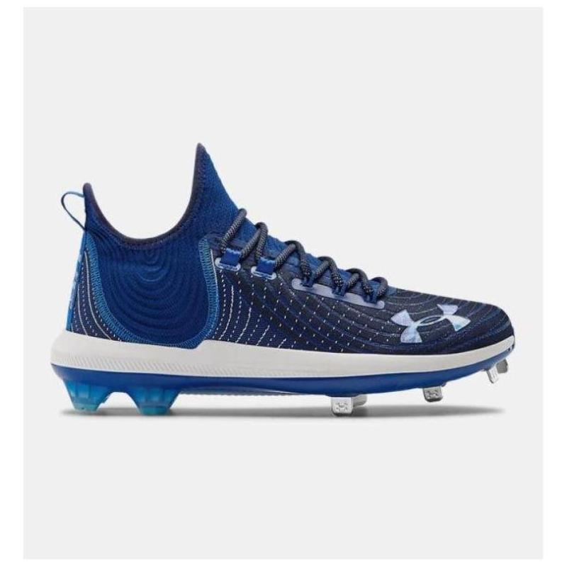 Under Armour Anderma men's sports baseball shoe nail knitted buffer lightweight U.S. direct mail 3022059