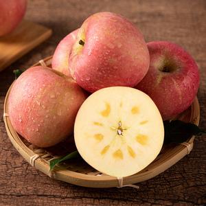 陕西原产地冰糖心红富士苹果带箱10斤