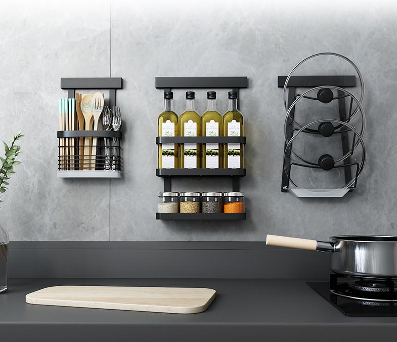打造整洁好厨房,实用置物架来帮忙13