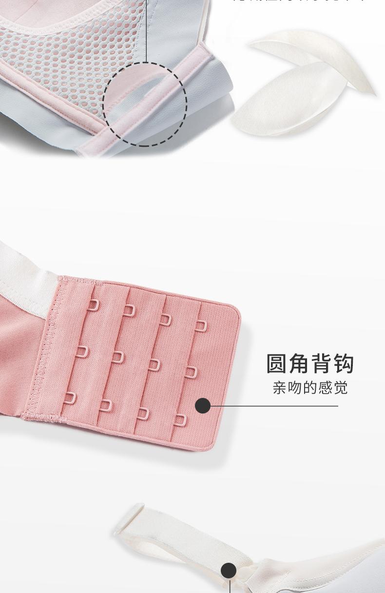 幻曦哺乳内衣薄款聚拢防下垂孕妇胸罩怀孕期无钢圈哺乳胸罩详细照片