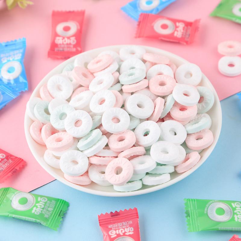 【萌小白】网红小零食老式薄荷糖
