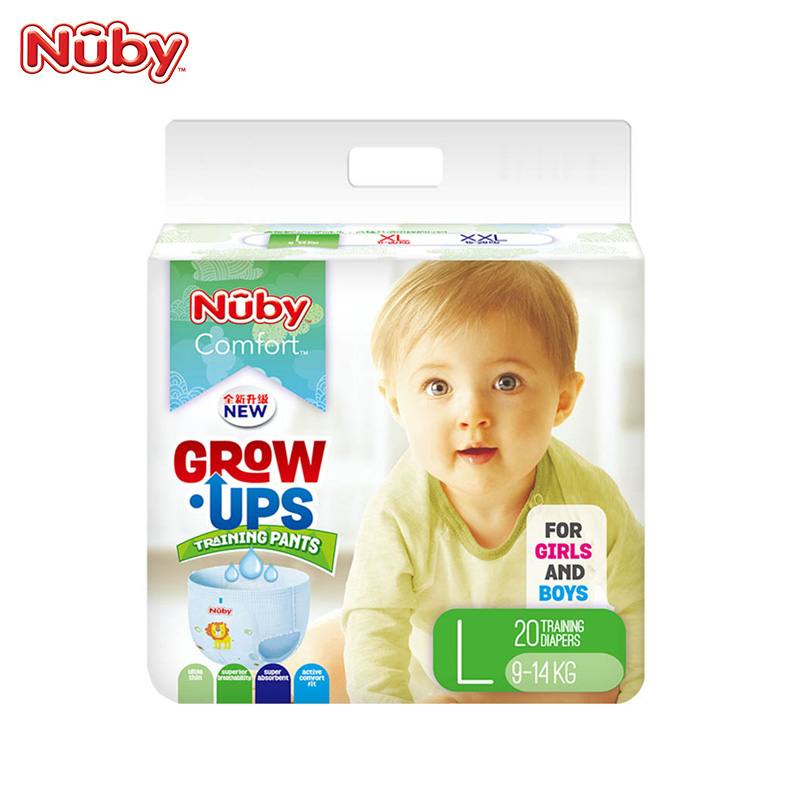 Nuby学步拉拉裤纸尿裤L20片