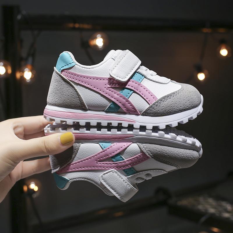 儿童帆布鞋男童女童2019年秋季新款韩版板鞋小童宝宝小白球鞋布鞋