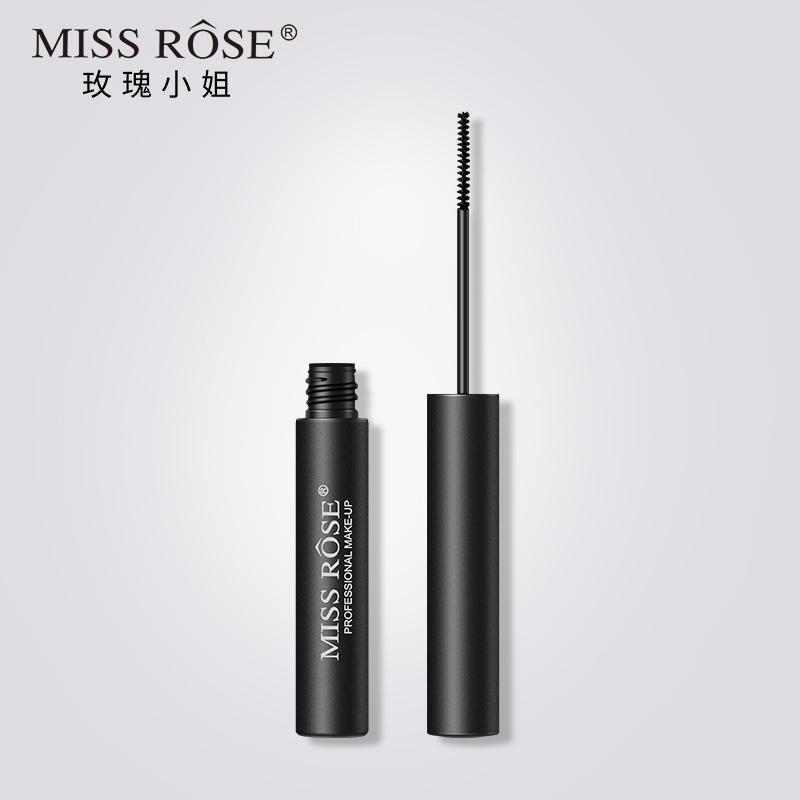 MISS ROSE玫瑰小姐睫毛膏防水纤长卷翘浓密加密持久自然细小刷头