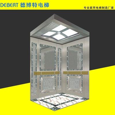 Household elevator small elevator loft residential Zhejiang Sui Villa sightseeing elevator four-layer design installation