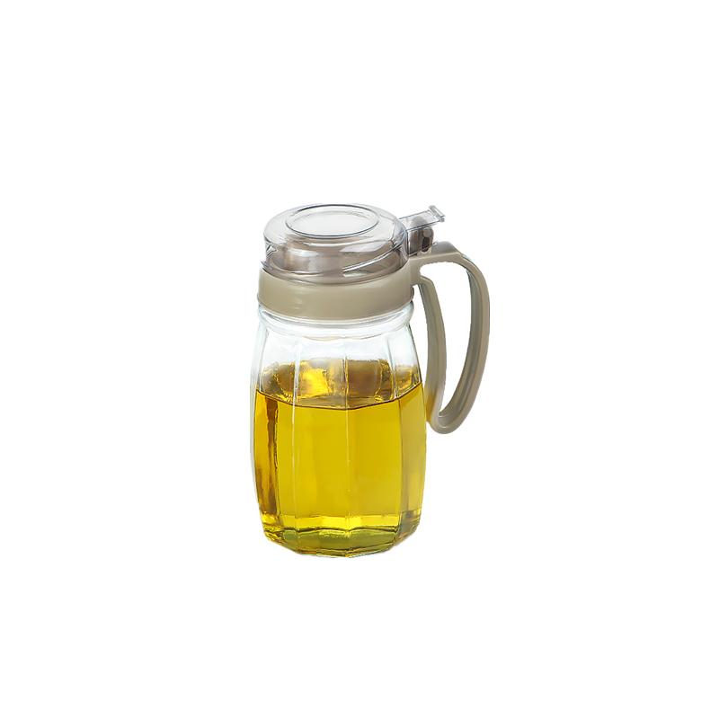 自动油壶防漏酱油醋瓶调料瓶玻璃家用厨房醋壶欧式储油罐油瓶套装-实得惠省钱快报