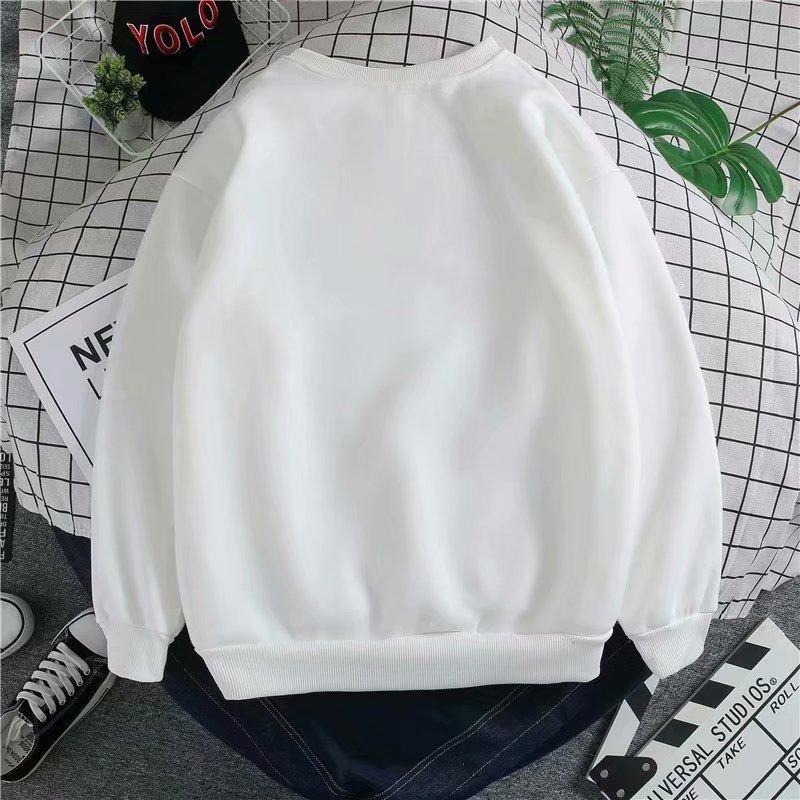 Kobe Black Manba autumn winter sweater men's plush clothes loose-fitting bottom t-shirt Korean version trend long-sleeved T-shirt 37 Online shopping Bangladesh
