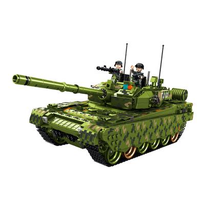 乐高积木玩具军事坦克战车男孩子益智力6拼装7装甲车8模型10岁12