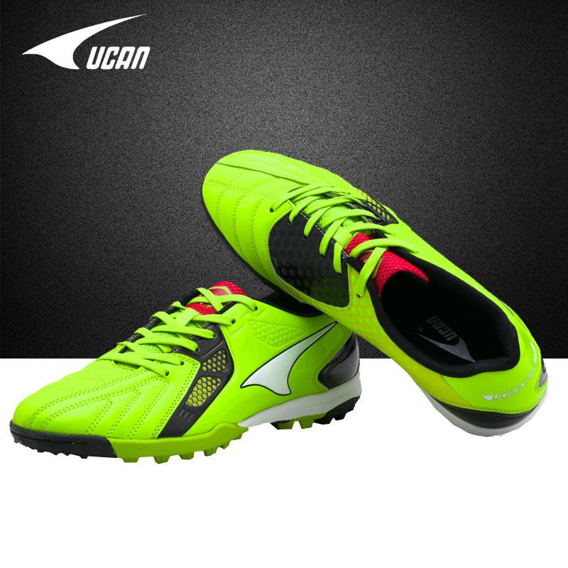 Подлинный резкое грамм сломанные ногти футбол обувной кожзаменитель ребенок для взрослых TF клей для ногтей футбол конкуренция обучение спортивной обуви UF5653