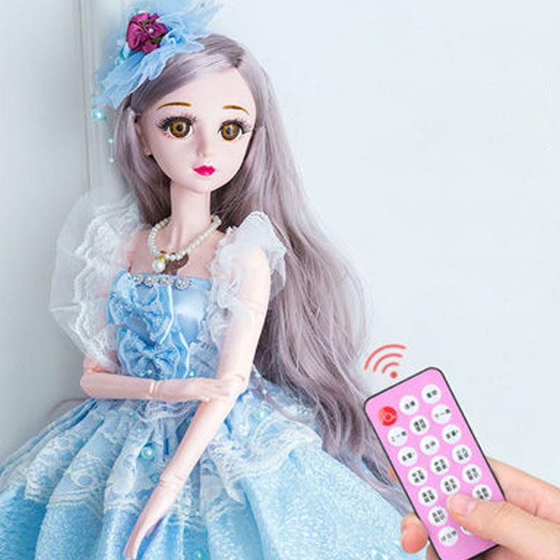 60厘米伊梦丝巴比娃娃套装公主女〓孩大号洋娃娃生日礼物单个玩具布